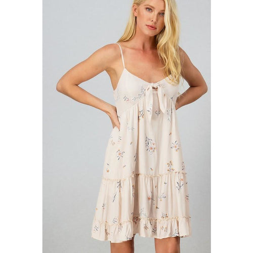 Wildflower Ruffle Mini Dress