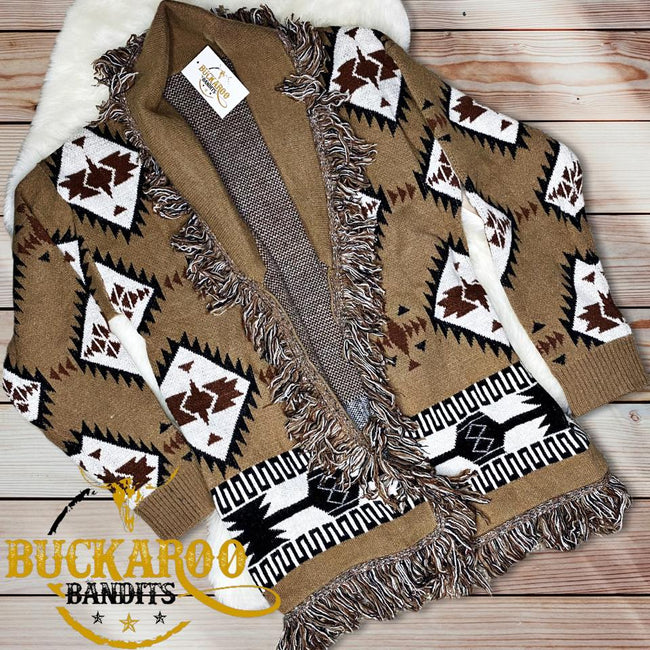 Tribal Fringe Cardigan