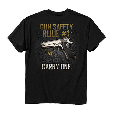 Gun Safety Rule Shirt