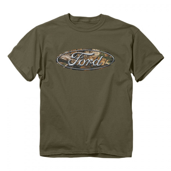 Ford Camo Emblem Tee - Cowboys & Angels