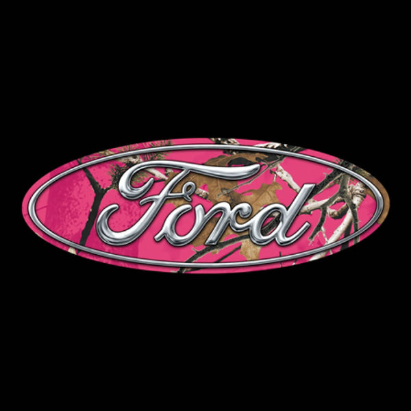Pink Ford Camo T-Shirt - Cowboys & Angels