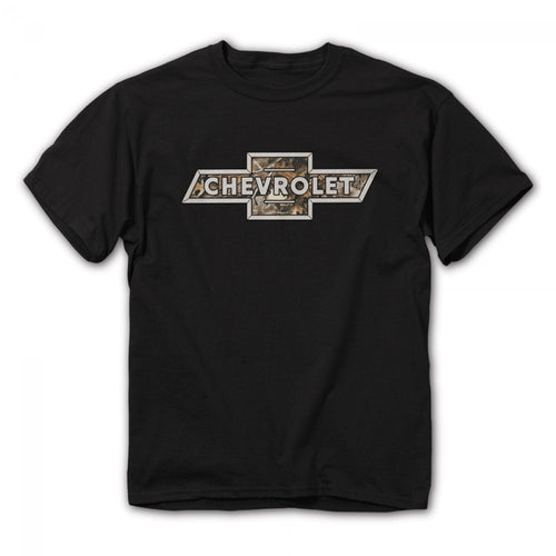 Chevy Camo Logo Shirt - Cowboys & Angels