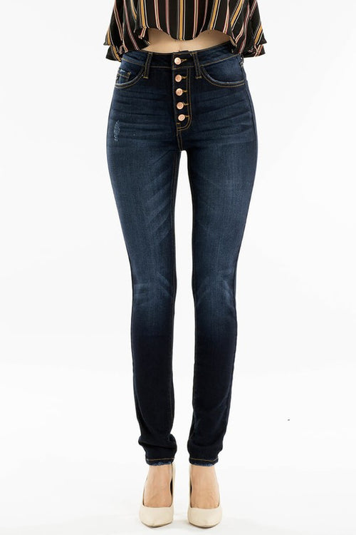 High Rise Kancan Skinny Jeans