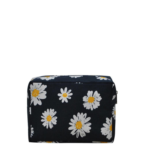LARGE Daisy Cosmetic Bag