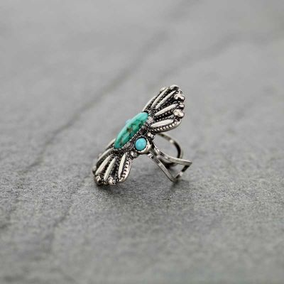 Multi-color Turquoise Ring