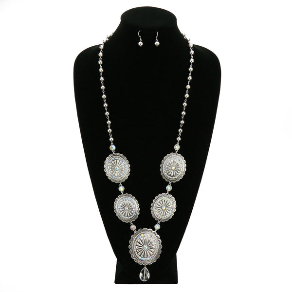 Concho Necklace Set