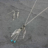 Wild Angels Necklace Set