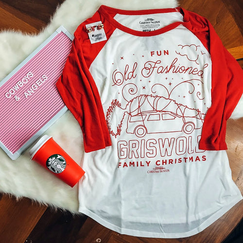 Griswold Family Christmas Baseball Tee