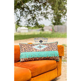 Lounger Leopard Pillow.