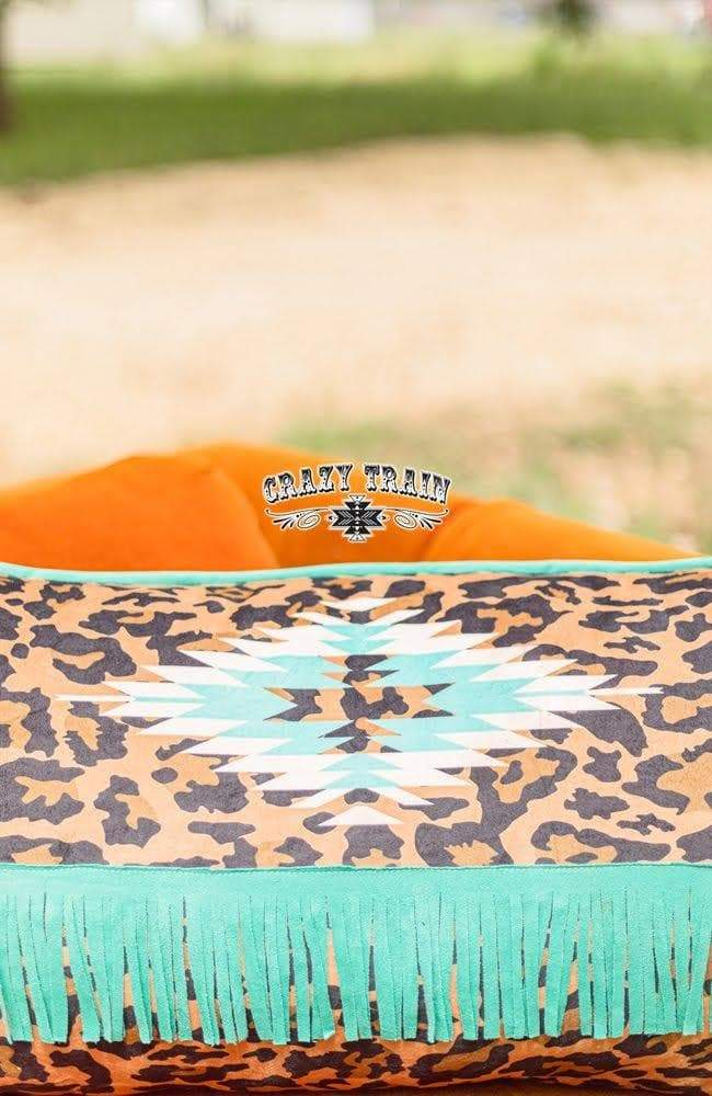 Lounger Leopard Pillow