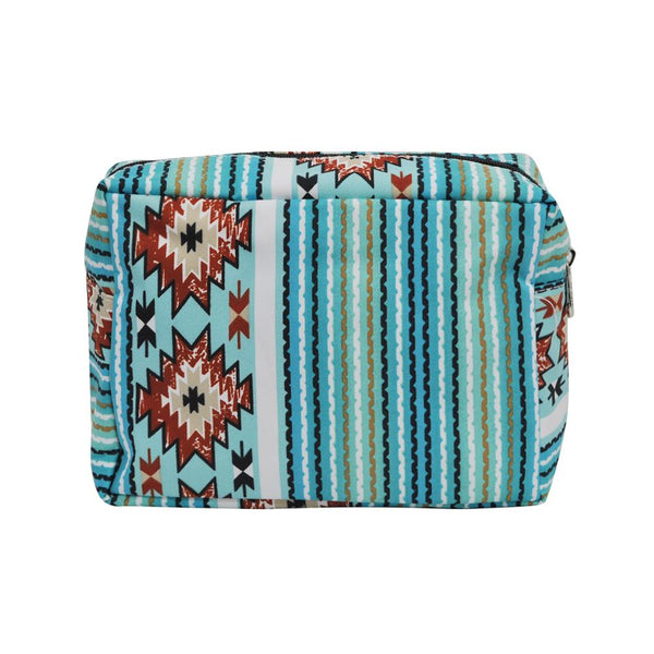 LARGE Southern Tribal Cosmetic Bag