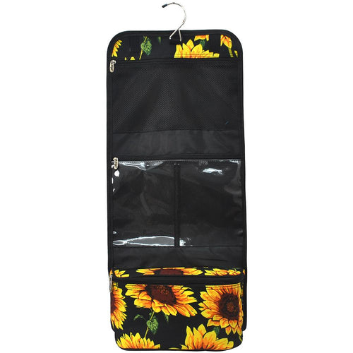 Sunflower Traveling Toiletry Bag