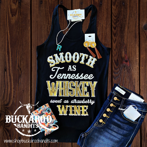 Smooth As Tennessee Whiskey Tank Top