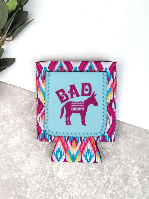 Bad Burro Can Cooler