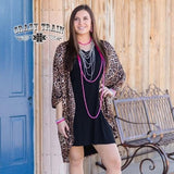 Crazy Train Leopard Cardigan
