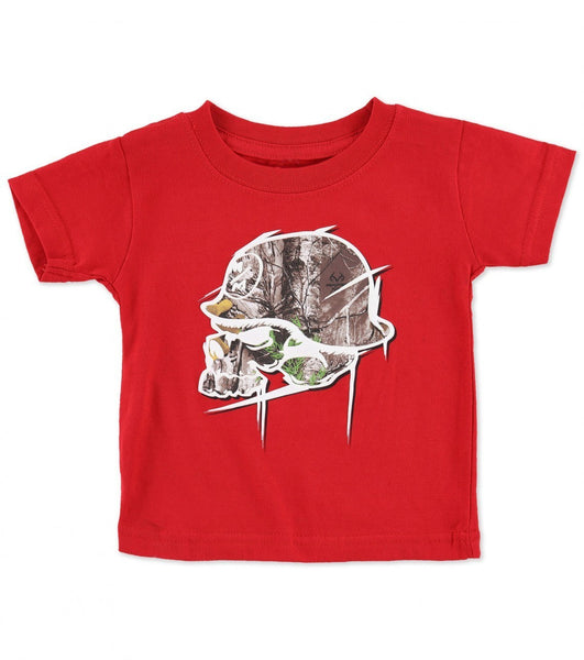 Infant Metal Mulisha Realtree Hideout Tee - Cowboys & Angels