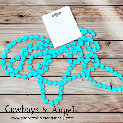 60″ Turquoise Necklace
