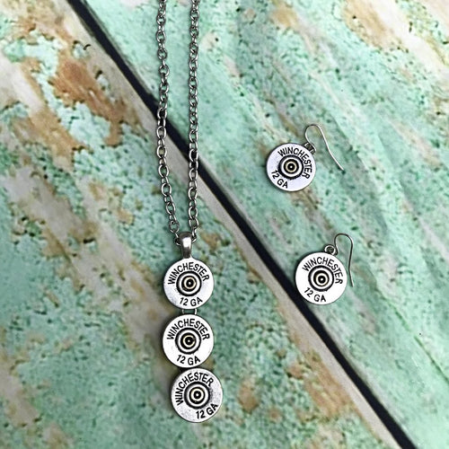 Winchester Dangle Necklace Set