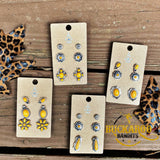 Be a Light Earrings Trio Set