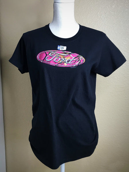 Pink Ford Camo T-Shirt