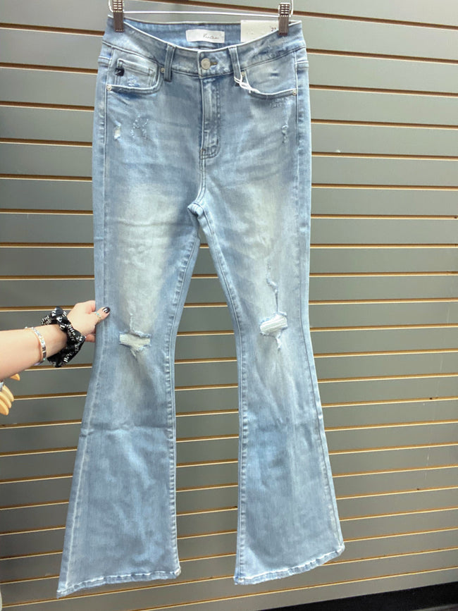 Kancan High Rise Flare Jeans