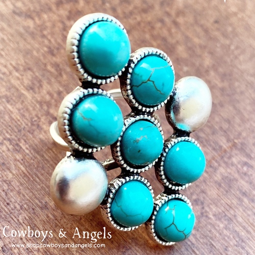 Go Your Own Way Turquoise Ring