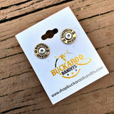 12MM BULLET EARRINGS