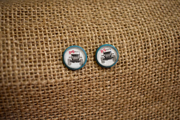 Jeep Girl Earrings