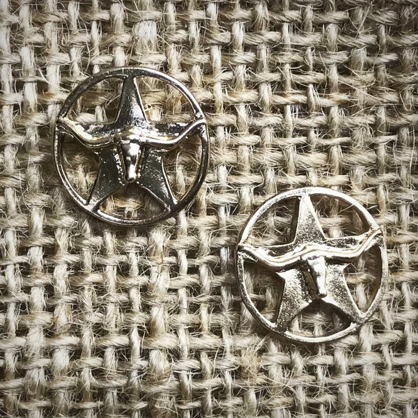 Lonestar Longhorn Earrings