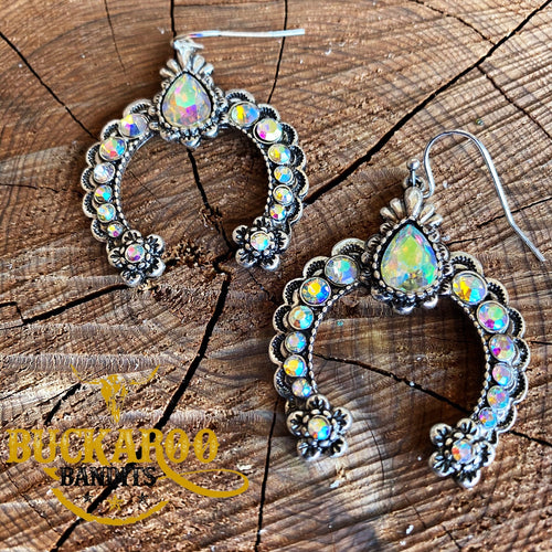 Rhinestone Squash Earrings