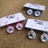 Jeep Dangle Earrings - MULTIPLE COLORS