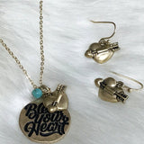 Bless Your Heart Necklace Set