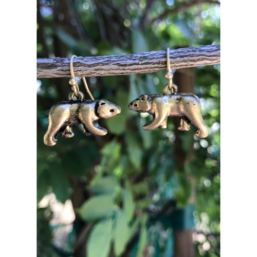 Mama Bear Dangle Earrings