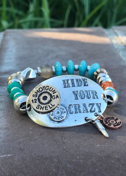 Hide Your Crazy Stretch Bracelet