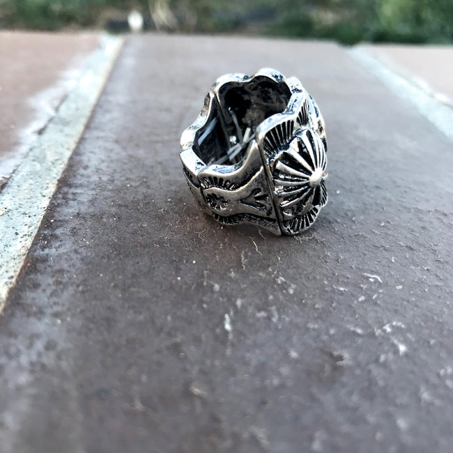 Western Concho Stretch Ring