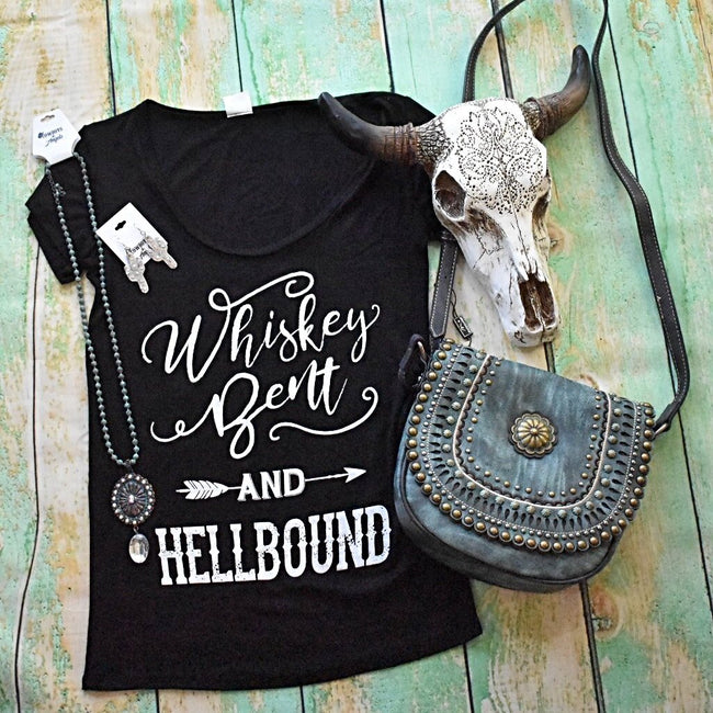 Whiskey Bent & Hellbound Tee