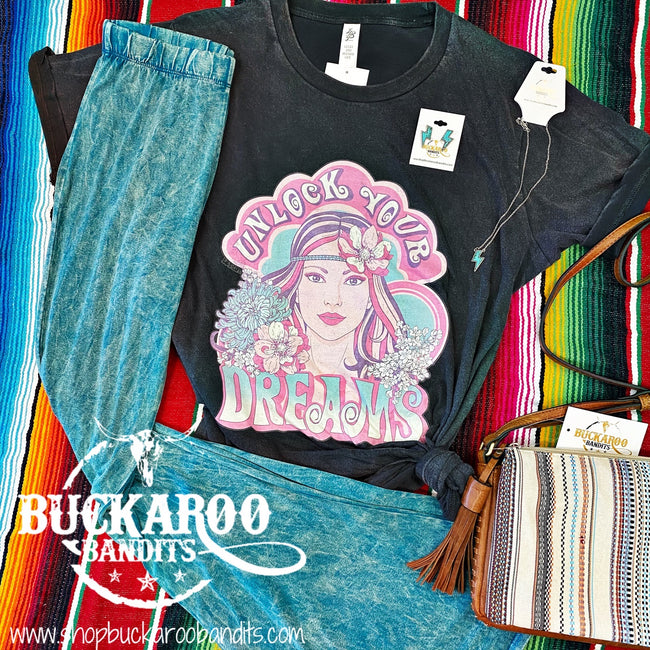 Heartache on the Dancefloor Flare Pants - Turquoise