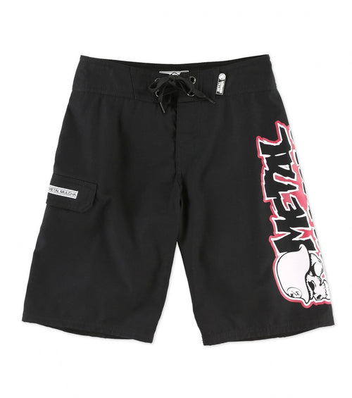 Boys Metal Mulisha Volt Boardshorts - Cowboys & Angels