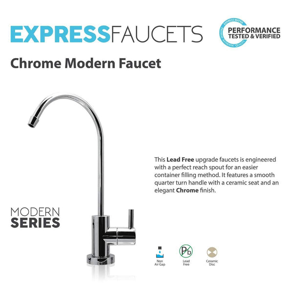 MODERN Ceramic Disc Designer Faucet Coke Shaped Non-Air Gap Faucet, CH