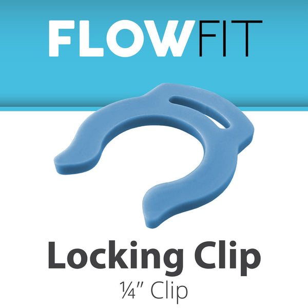 BLUE CLIP FOR LOCKING QUICK CONNECT FITTINGS 1/4""