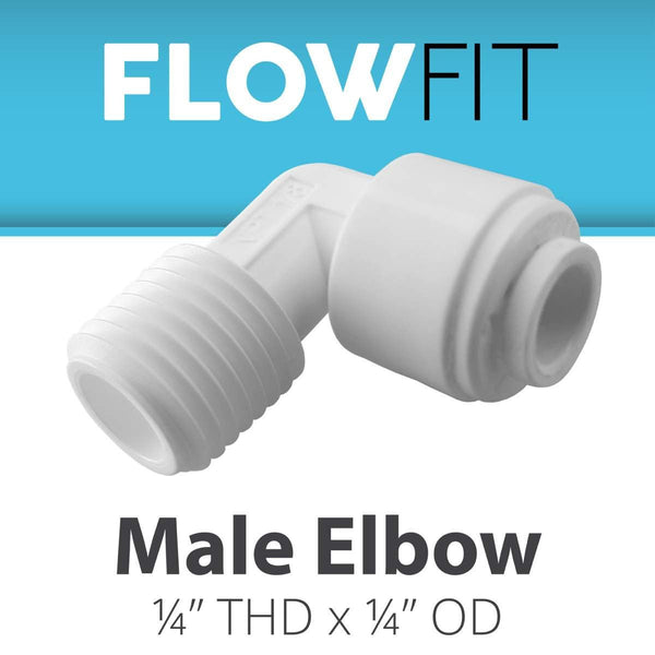 "1/4"" MALE ELBOW"