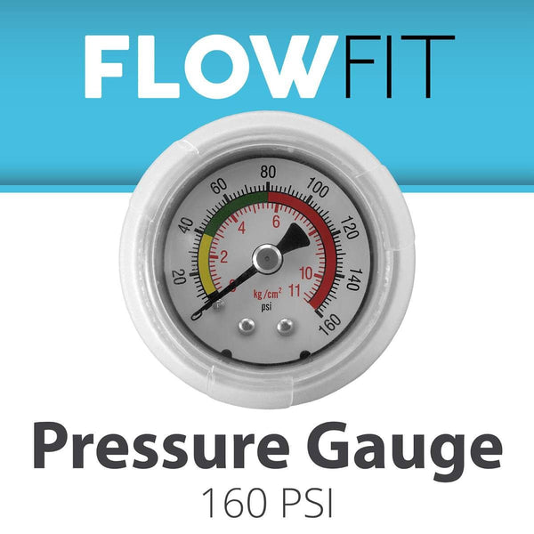 Water Pressure Gauge 160 PSI