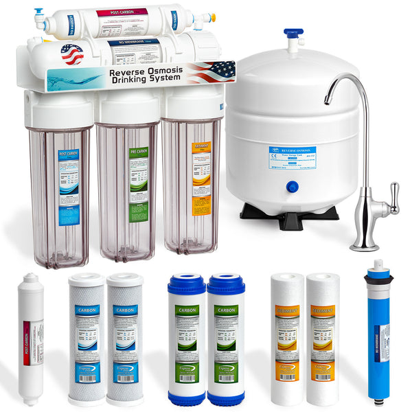 Manufacturer Of RO/UV Drinking Water Filter Systems For Home Or Business.  We Have A Full Line Of Replacement Parts Including Filters, Tanks, Faucets.