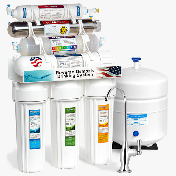 Alkaline + Ultraviolet RO System - Express Water Manufacturer of Reverse Osmosis Drinking and UV Water Filter Systems, Parts & Accessories