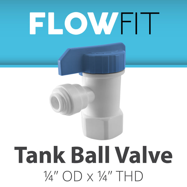 "1/4"" Tank Valve Quick Connect - Express Water Manufacturer of Reverse Osmosis Drinking and UV Water Filter Systems, Parts & Accessories"