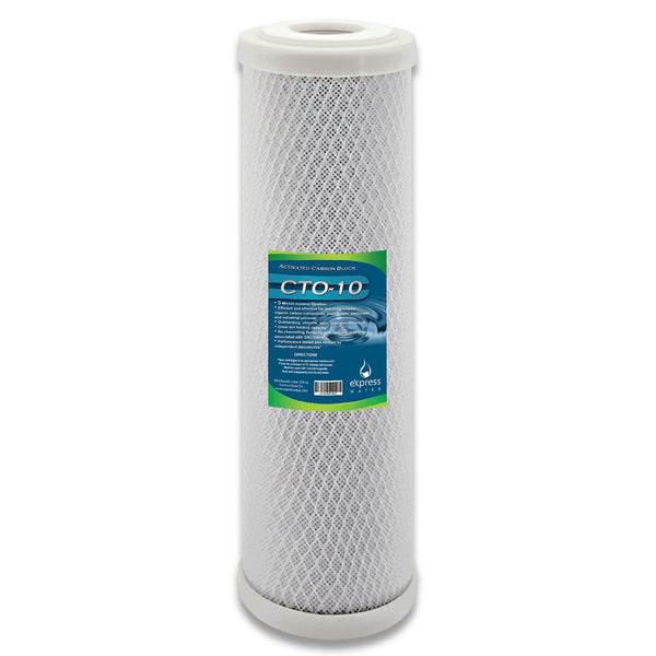 "Whole House Water Filter Replacement Cartridge Coconut Shell Carbon CTO 5 um Micron 4.5"" x 20"" Inch"