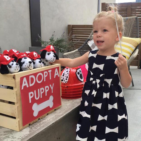 paw patrol birthday party adopt a puppy