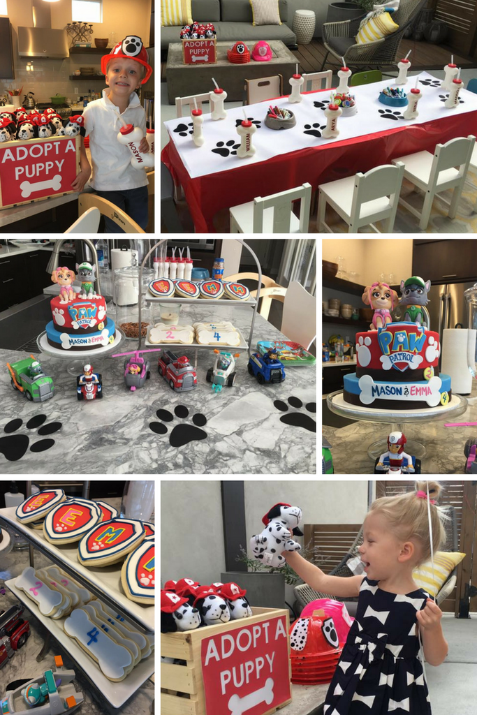paw patrol birthday party ideas and decorations