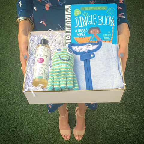 unique baby shower gift box