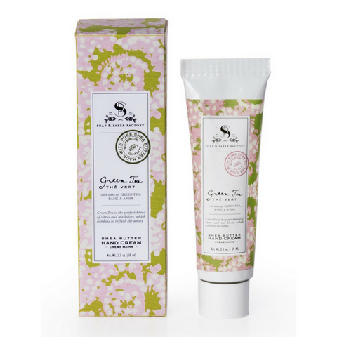 GREEN TEA DELUXE HAND CREAM